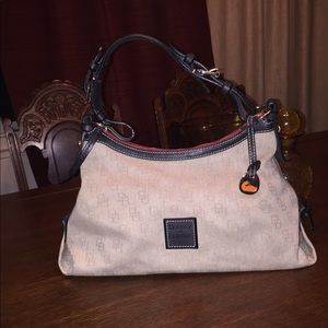 Authentic Dooney & Bourke shoulder bag